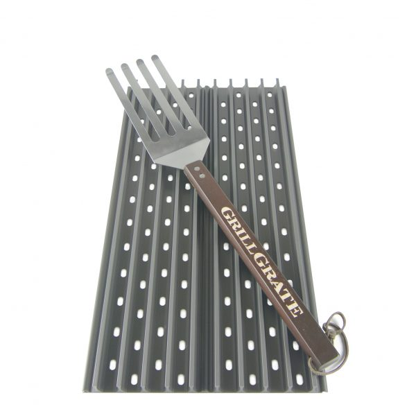 "Two Panel Set 19.25"" GrillGrates with GrateTool"