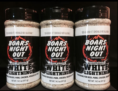 Boars Night Out White Lightning