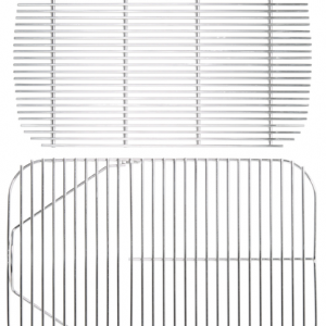 STAINLESS STEEL COOKING GRID & CHARCOAL GRATE
