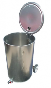 Vortex smoker Floating-hinge lid system