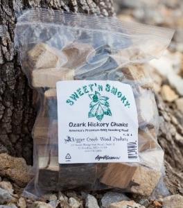 Sweet 'N Smokey hickory chunks