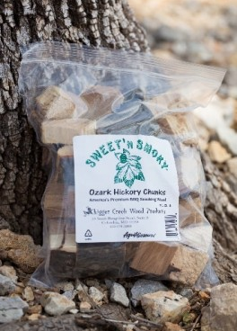 Sweet 'N Smokey hickory chunks