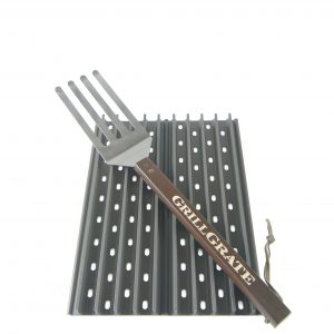 "Two Panel Set 13.75"" GrillGrates with GrateTool"
