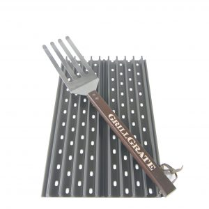 "Two Panel Set 15"" GrillGrates with GrateTool"